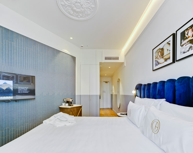 Habitación Clara. Hotel Casa Alberola